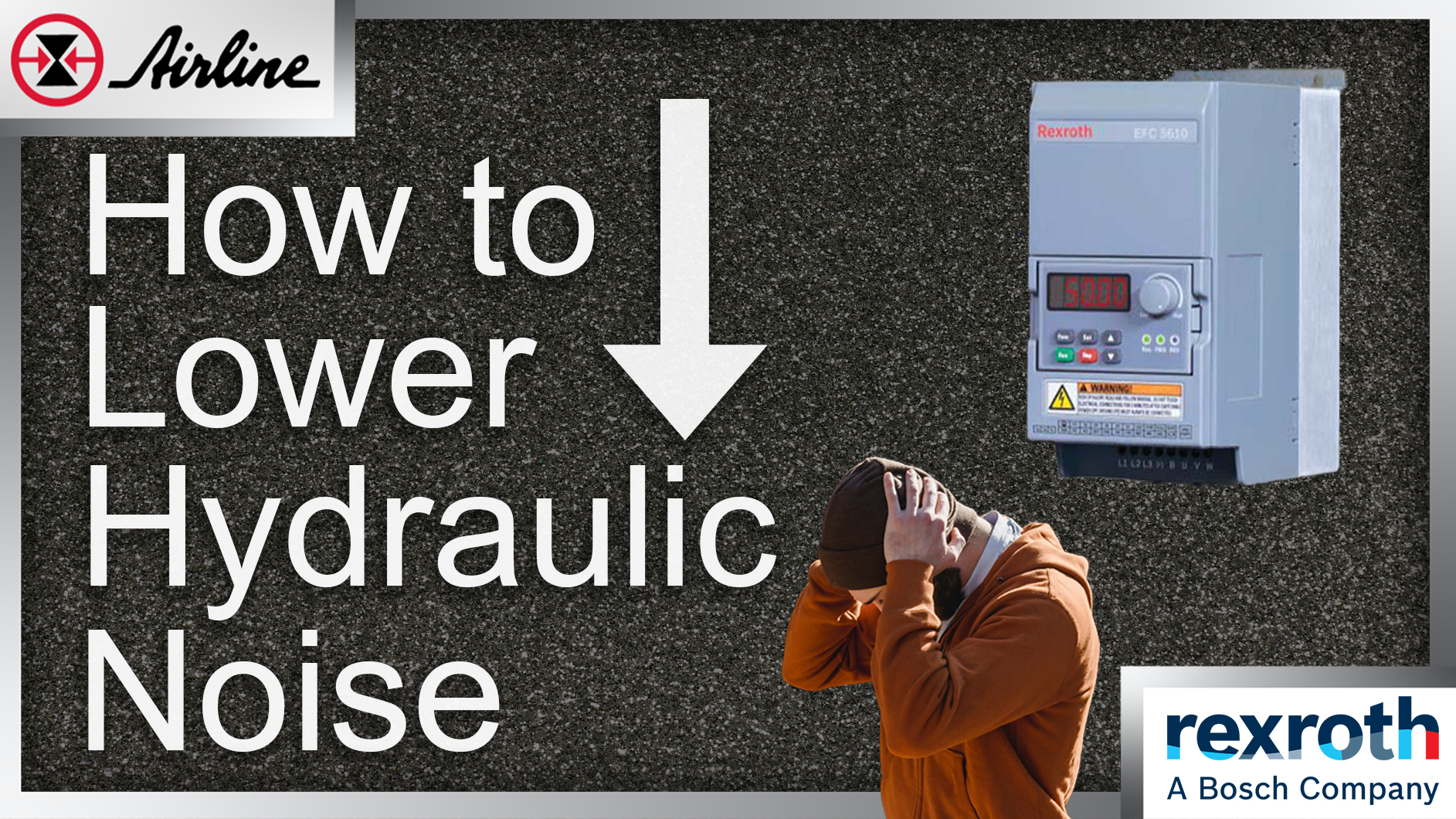 How to lower hydraulics noise
