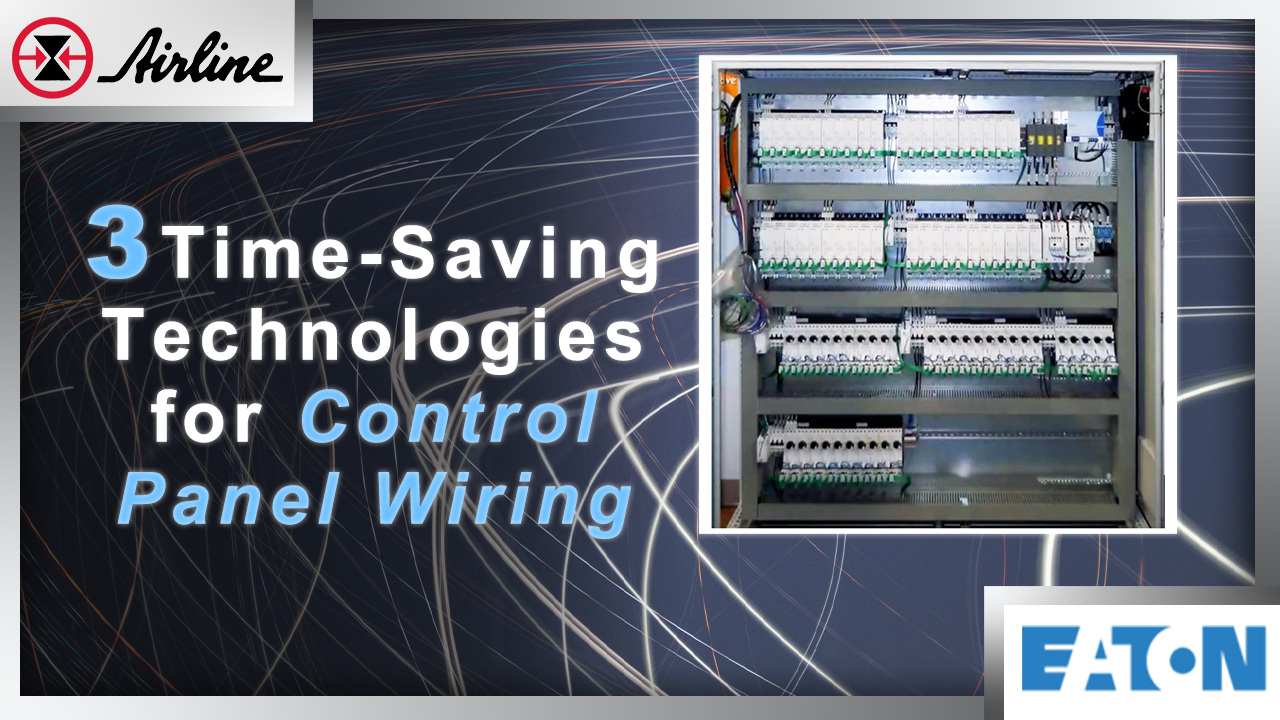 time saving tech for control panel wiring